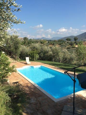 Country Villa with swimming pool - Castelnuovo di Farfa - Villa