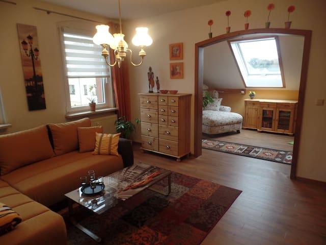 Gemütliche Dachgeschosswohnung mit tollem Ausblick - Wilkau-Haßlau