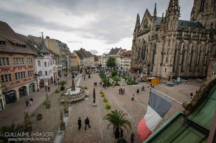 APPARTEMENT COZY COEUR HISTORIQUE - Mulhouse