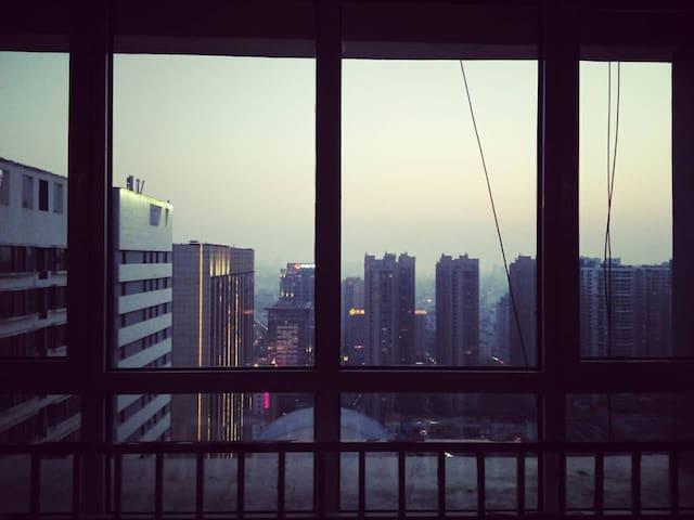 Sunny downtown studio - Qingdao - Apartamento