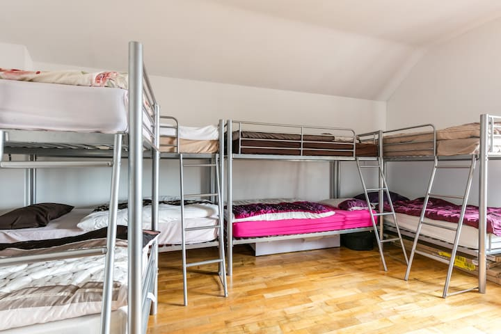 Slemish Barn: Shared dormitory - Ballymena - Schlafsaal