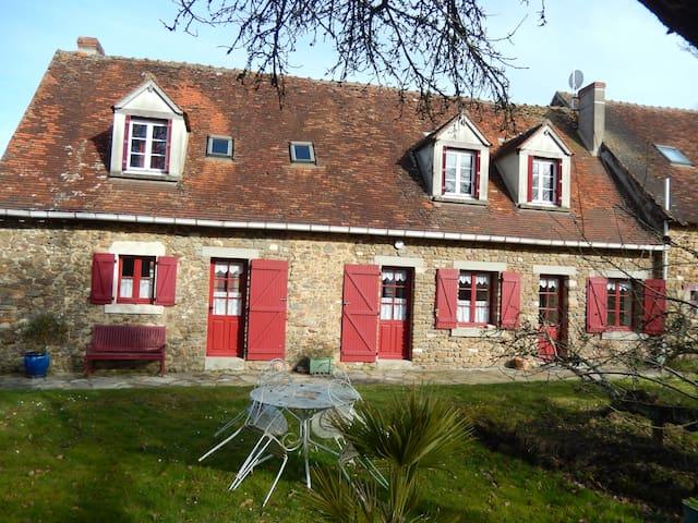 Maison de campagne avec un étang - Parnac - Hus