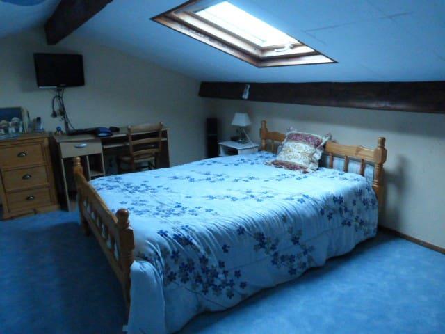 chambre chez l'habitant avec piscine et sauna - Buzet-sur-Tarn - Casa
