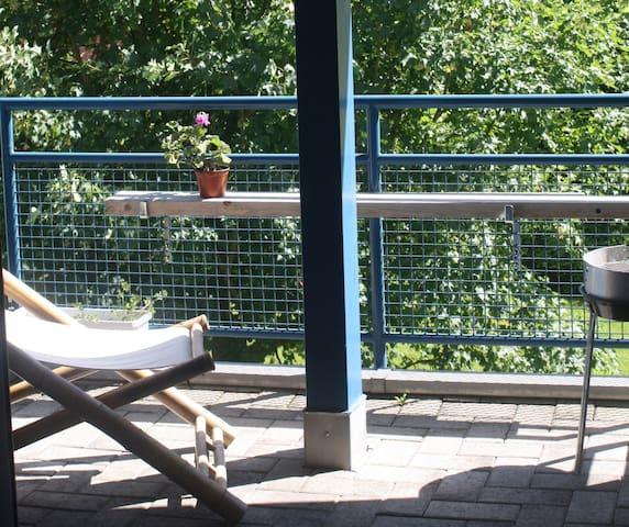 Beautiful and quiet studio near Lake of Constance - Kreuzlingen - Huoneisto