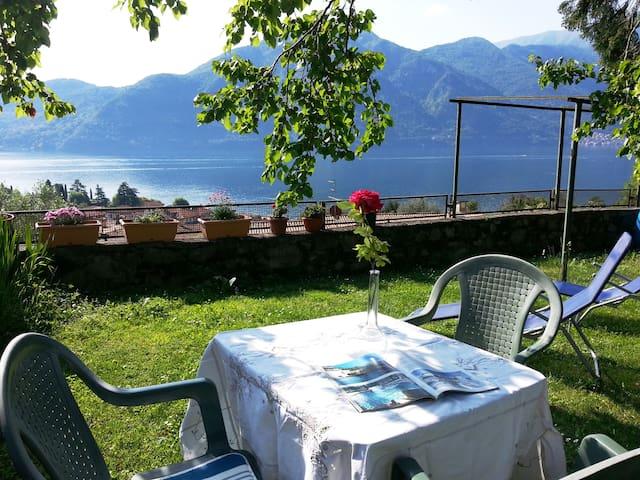 The lake of Como-beautiful view on the lake2/4 p. - Azzano