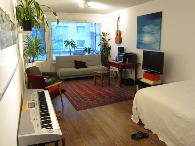 Room in the absolute center! - Tampere - Daire