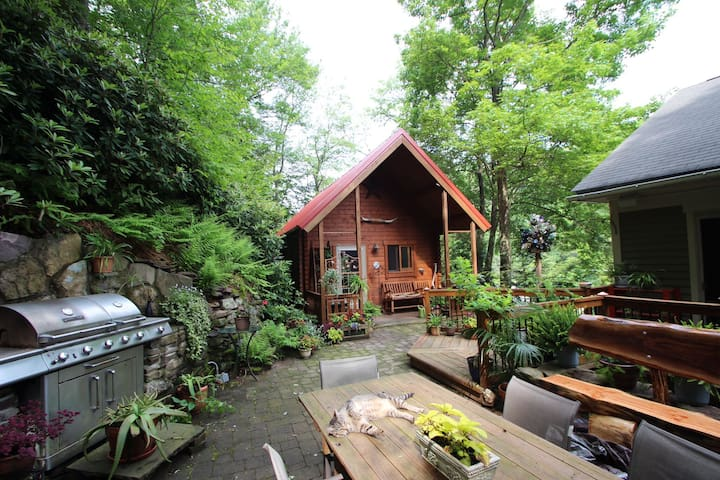 Cabin in the trees in historic Jim Thorpe... - Jim Thorpe - Chalet