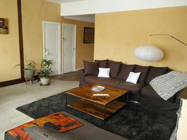 Chambre meublée en centre ville - VILLEFRANCHE SUR SAONE - Lägenhet