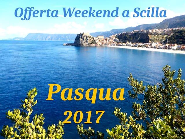 OFFERTA WEEKEND DI PASQUA CAMERA DOPPIA - Scilla - Oda + Kahvaltı