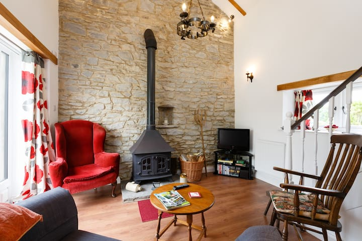 Wenslow Barn, a popular cosy R&R destination. - Ross-on-Wye - Appartement