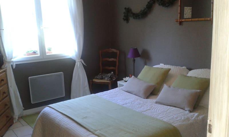 chambre au calme dans villa. - Les Adrets-de-l'Estérel - Oda + Kahvaltı