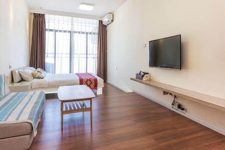珠海*全新*市中心精品度假公寓,舒适享受等您来体验!@香洲总站@茂业百货 - Zhuhai - Wohnung