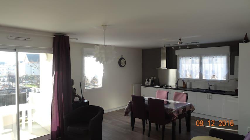 Appartement  5 mn de Ker lann, Park Expo Rennes - Bruz - Apartament