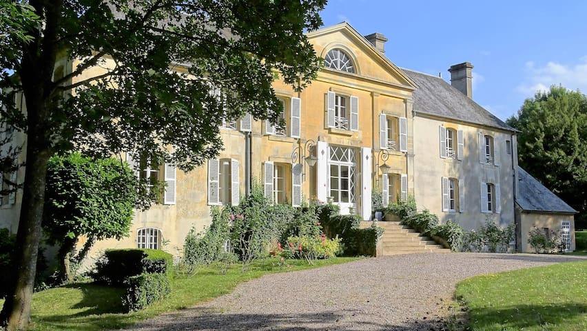 Château, 12  bedrooms for rent in Gite - Tournai-sur-Dive