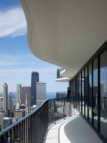 LUXURY STAY MILLENIUM PARK WITH HUGE BALCONY - Chicago - Pis