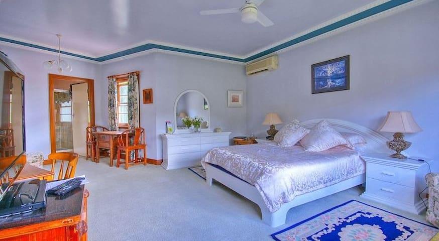 Juparana Room at Melville House B&B - East Lismore - Lägenhet