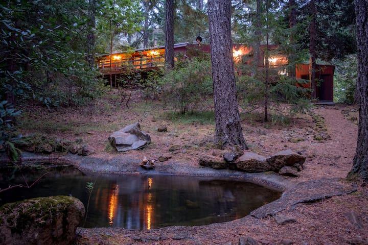 Ahhhh... The Cabin near the Smith River - Gasquet - Houten huisje