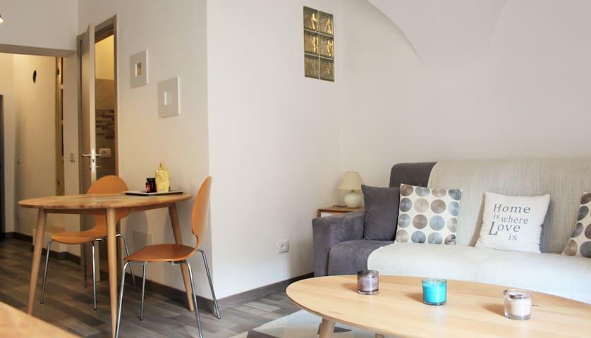 Superbe studio centre Badalucco - Badalucco - Apartmen