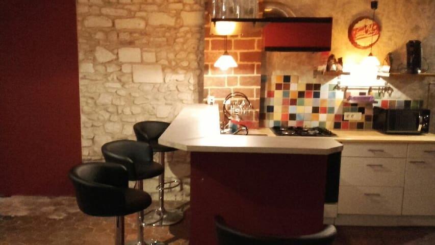 Appartement Atypique, chaleureux - Auxerre - Leilighet