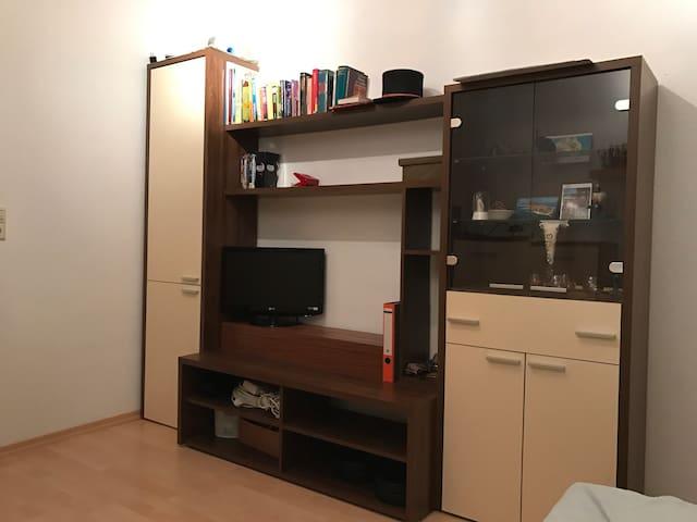 Kleines Zimmer mit TV & WLan - Tuttlingen - Condo