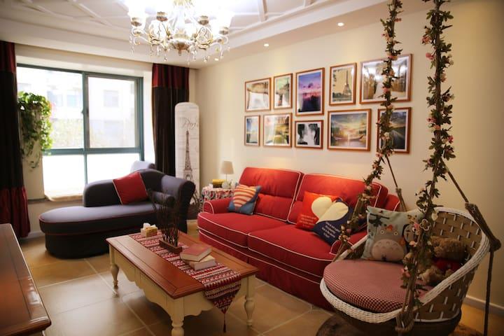 市北区 一室一厅 靠近科技街 五四广场 奥帆中心 可步行劈材院 - Qingdao - Apartament