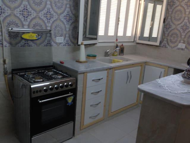 Appartement centrale avec vue de mer - Korba - Appartement