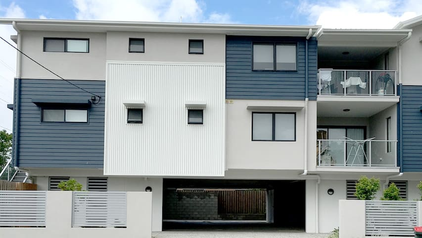 Private room with double bed - Moorooka - Appartement