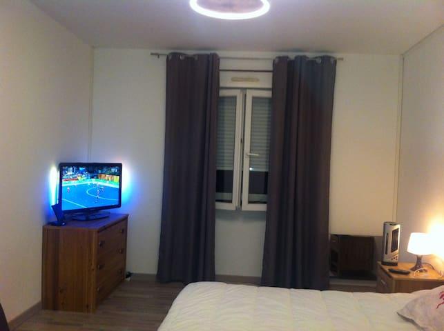 Nice room, bathroom and more ... - Herserange - 獨棟