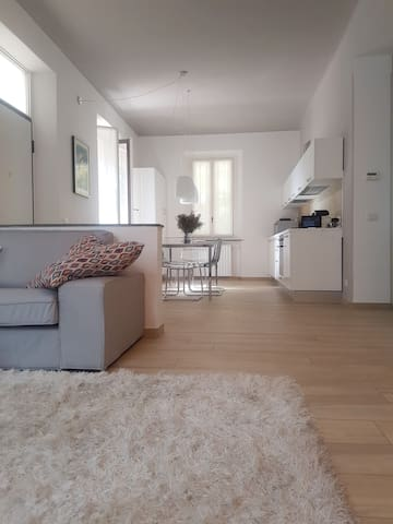 Trendy and Modern Open Space in Historical Villa. - Varese - Daire