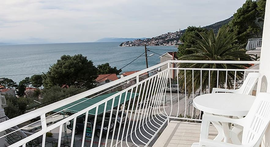 Milan-2bedroom apartment with balcony and sea view - Živogošće - Leilighet