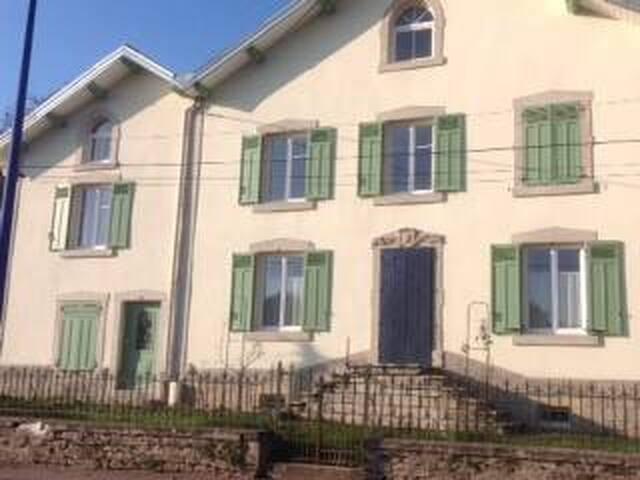 Maison indépendante - Bains-les-Bains - Apartemen