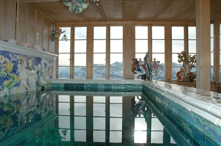 Rigi Chalet: Carfree hikes away from civilisation! - Arth - Chalé