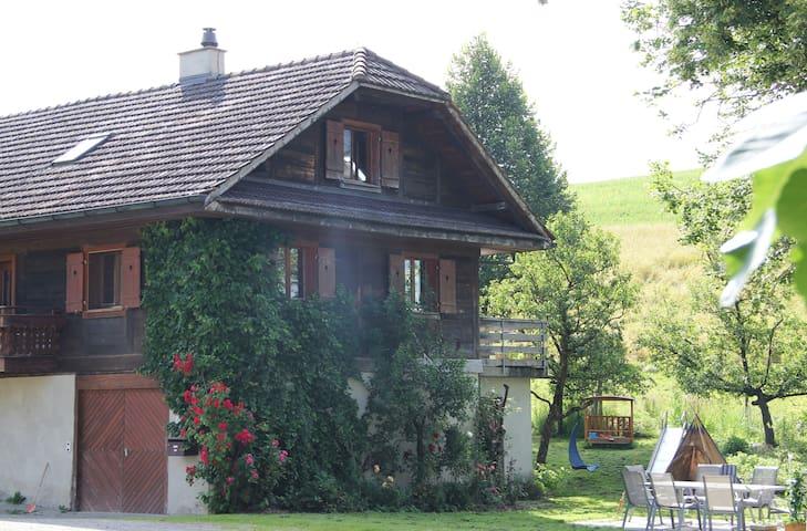 Gästezimmer auf Bio Bauernhof - Willisau - Hus