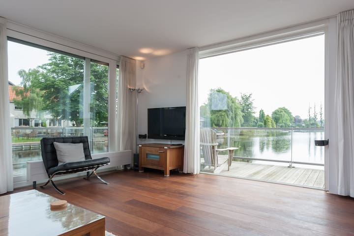 5-star (family) house near water - Roelofarendsveen - Dom