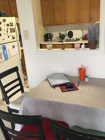 Up to 4 guests can be hosted.. - College Park - Leilighet
