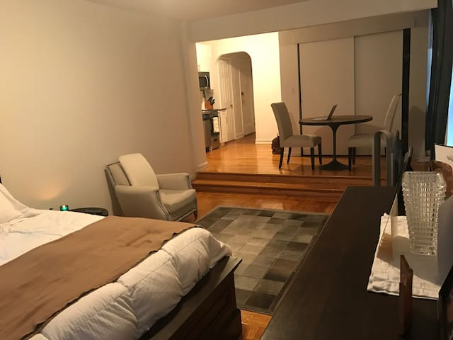 Large Luxury Studio one block from Subway express. - New York
