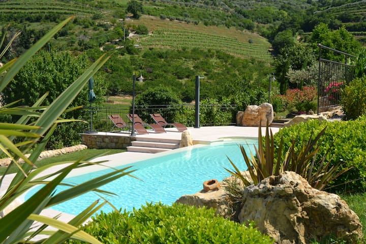Agriturismo con piscina, tra le vigne del Soave - Tamellini - B&B