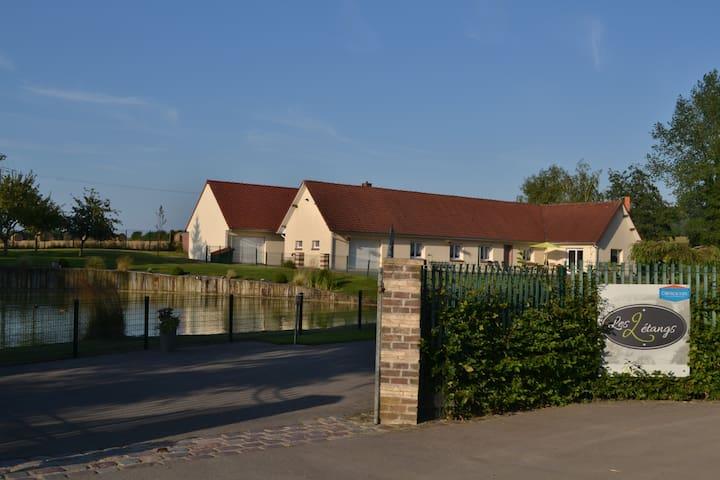 Gîte Les 2 étangs - Samer - Casa