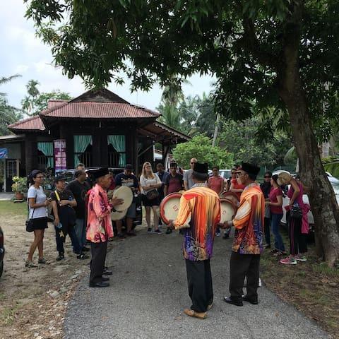 Malay Tradisional Home - Batang Berjuntai - Maison