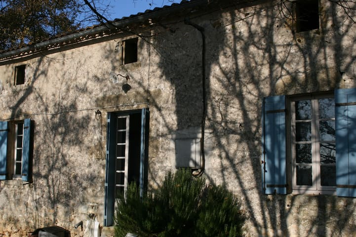 Double Room In Old French Farmhouse - Gensac - Rumah