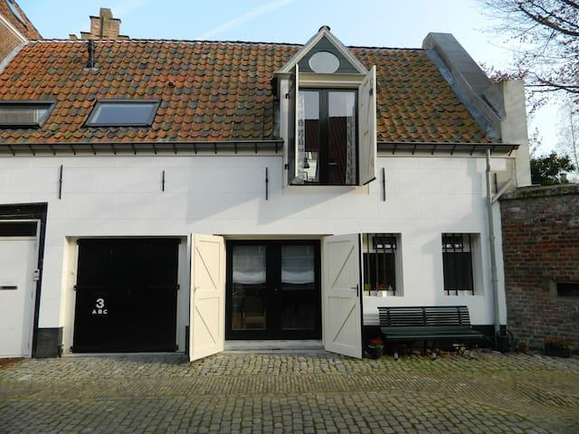 Pakhuis '1883' sfeervol appartement - Middelburg - Apartamento