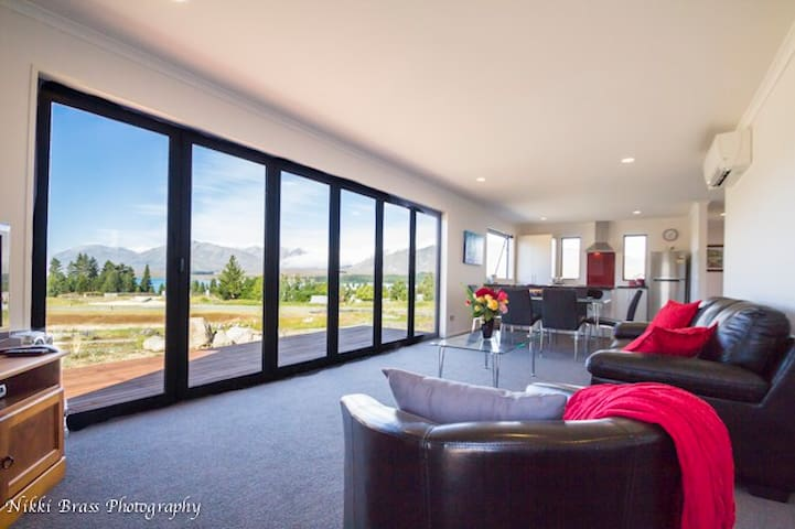 Starlight View - 3 bedroom 2 bathroom house - Lake Tekapo - Maison