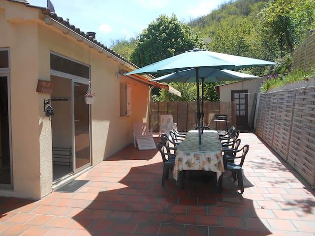 Espace et calme aux portes d'Ajaccio - Carbuccia - Rumah