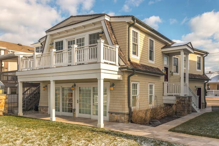 Bayfront home on Sunset Lake. - Wildwood Crest - Daire