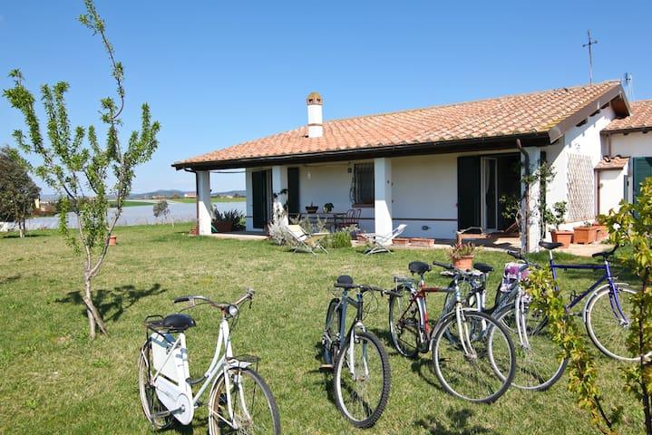 la casa delle ginestre, your country home - Pescia Romana - Willa