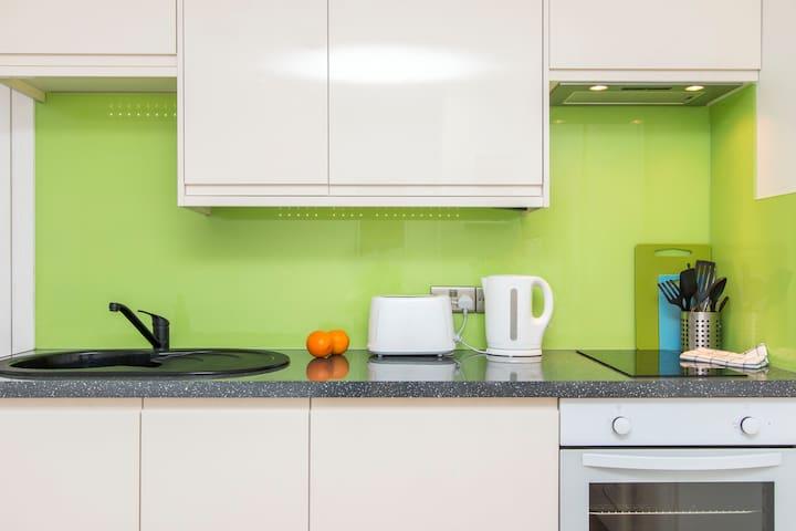 contemporary serviced city studio apartment - Bristol - Leilighet