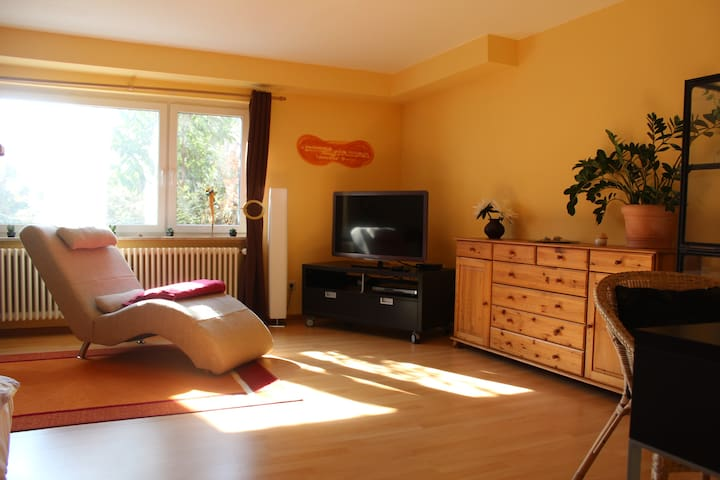 Private apartment with terrace & garden - Hartheim