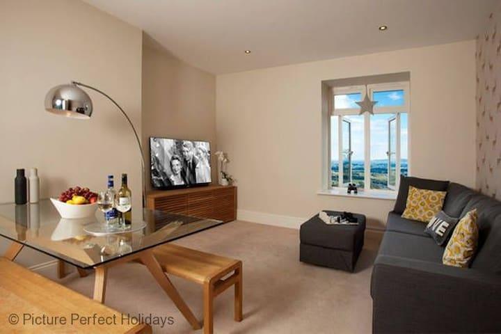 The Views, Luxury Apartment, Malvern, Sleeps 2 - Malvern - Lägenhet