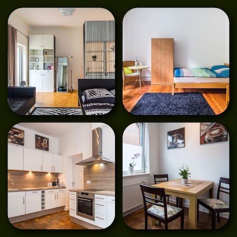 Helle Wohnung mit Garten & Terrasse - Bargteheide - Wohnung