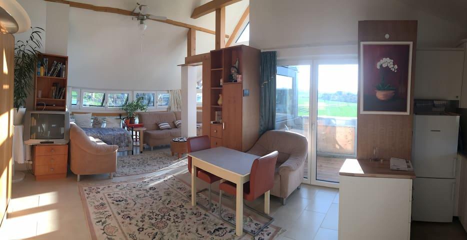 Panorama Wohnung (3-Zimmer-Wohnung) 2 Balkone - Obereching - Appartement